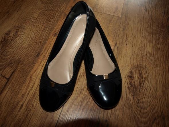 Czarne baleriny rozm 37