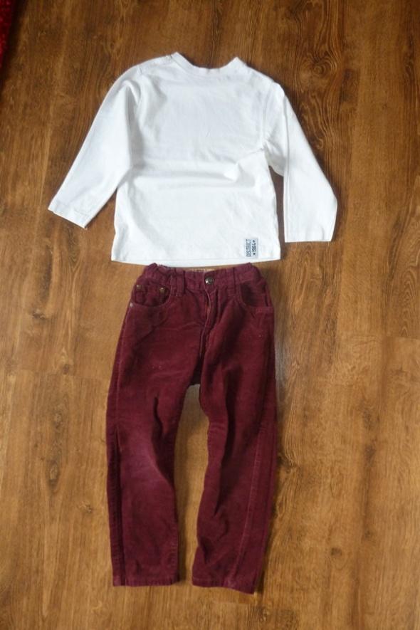 spodnie HM i biały Tshirt 98 104