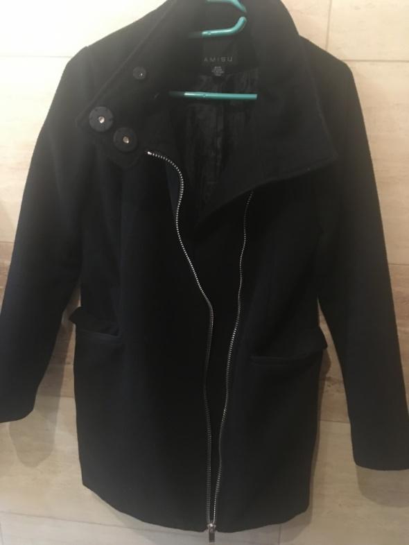 czarny płaszcz amisu new yorker 36 S...