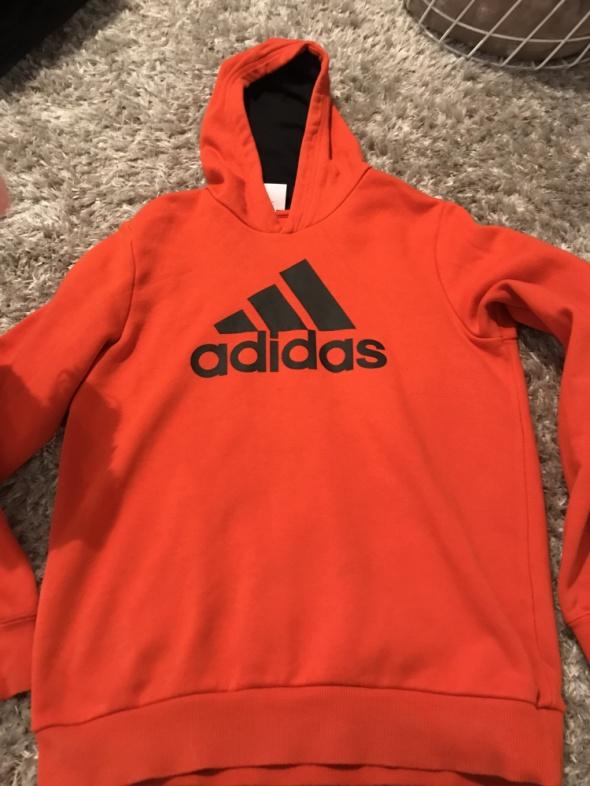Bluza Adidas pomarańczowa ciepła...