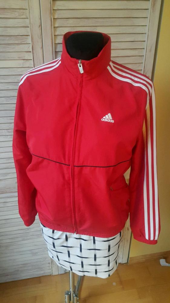 czerwona bluza adidas w Bluzy Szafa.pl