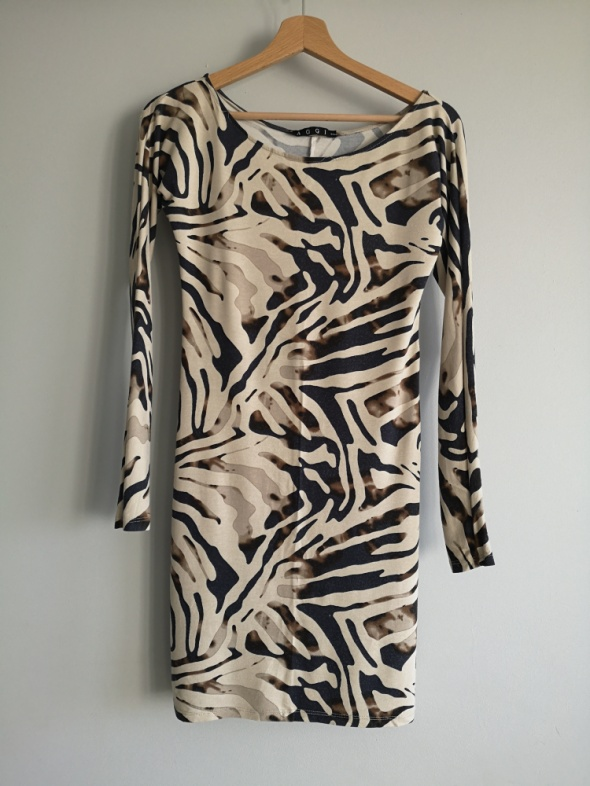 Sukienka we wzory XS...