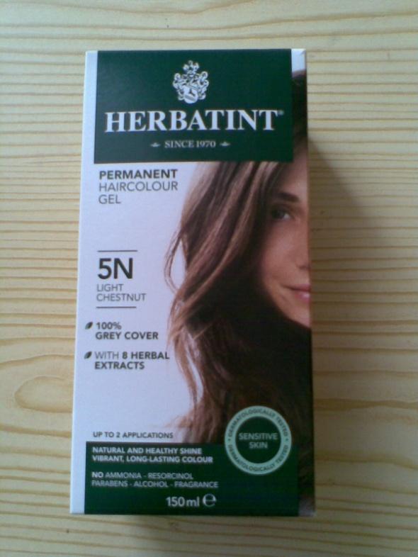 Trwała ziołowa farba do włosów HERBATINT 5N