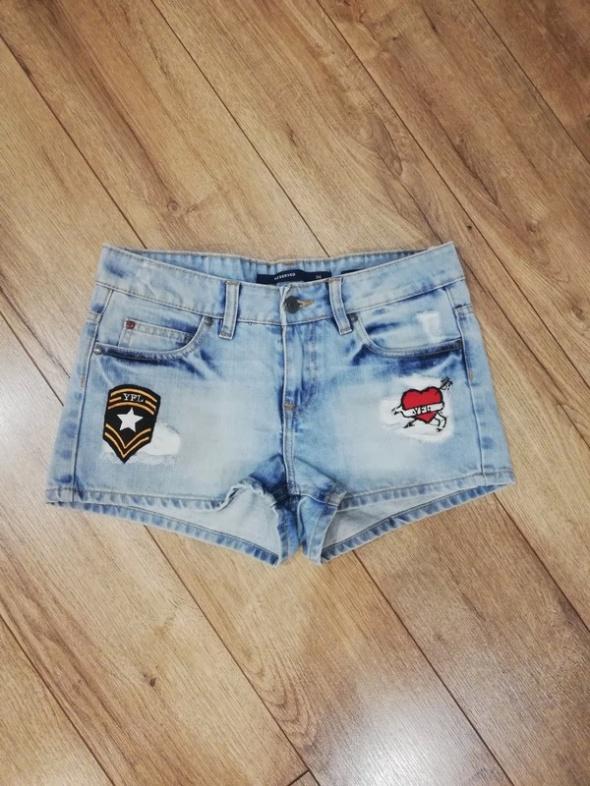 Szorty spodenki krótkie jeansowe S Reserved