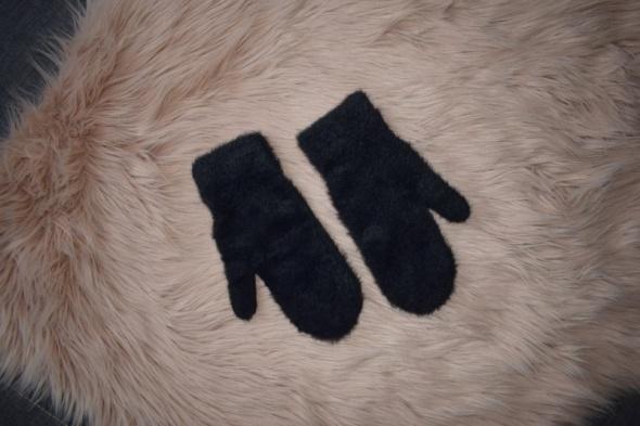 Reserved czarne rękawiczki łapki