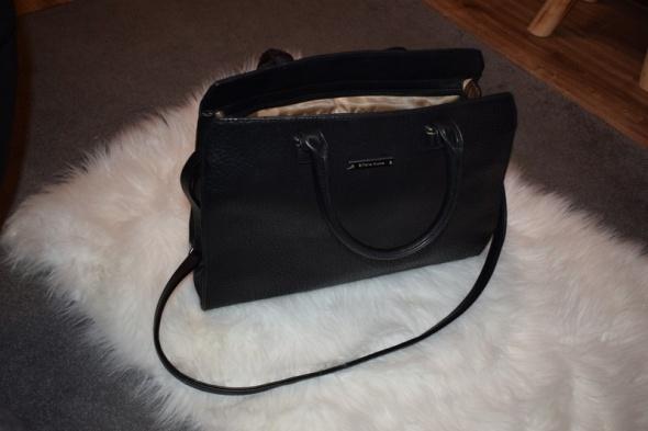 Torebki na co dzień czarna torba shopper bag kuferek