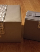 AVON szkatułka na biżuterię srebrna używana...