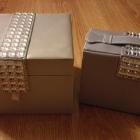 AVON szkatułka na biżuterię srebrna używana