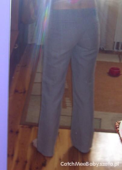 Spodnie lniane camaieu...