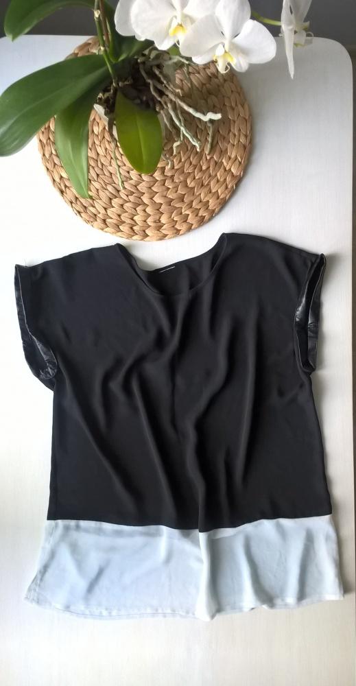 Czarno biała bluzka