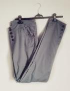 spodnie baggy khaki