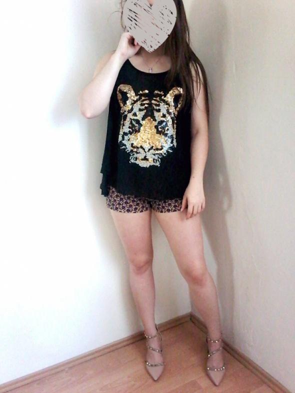 mgiełka z tygrysem