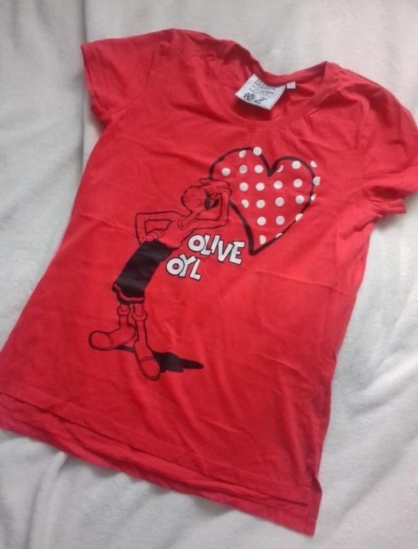 Bluzka piżama koszulka do spania Papaj...