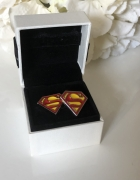 Spinki do mankietów superman wesele ślub
