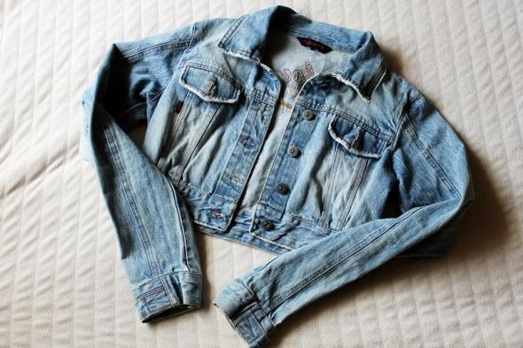 Kurtka kurteczka katana jeans jeansowa playboy