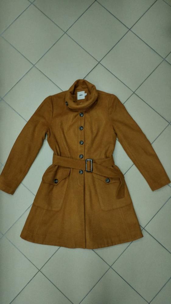 Płaszcz wełniany karmelowy wełna ASOS XL 42...