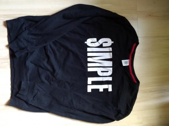 Czarna bluza Simple M...