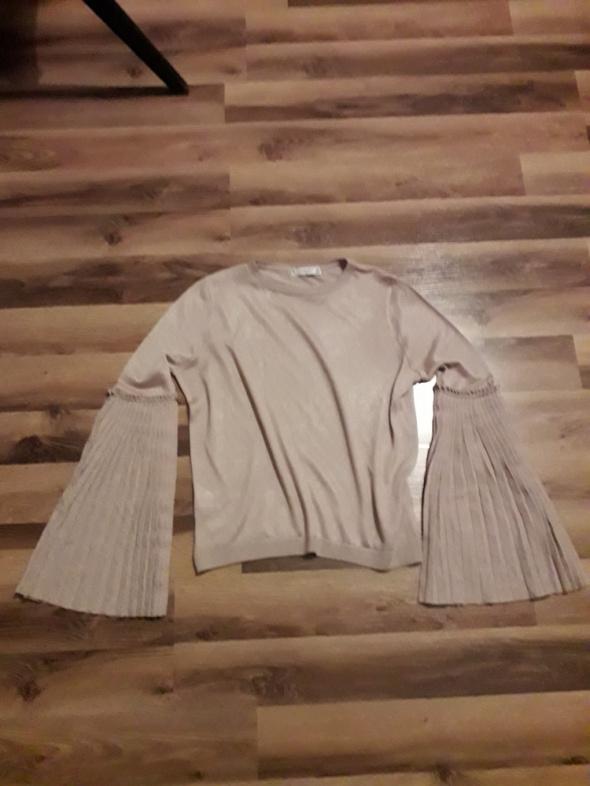 Bluzka z plisowanymi rękawami Mango M