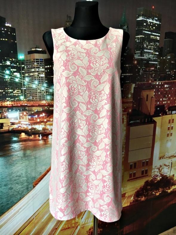 6ee63041bf hm sukienka koronkowa neonowa zip hit 38 M w Suknie i sukienki ...