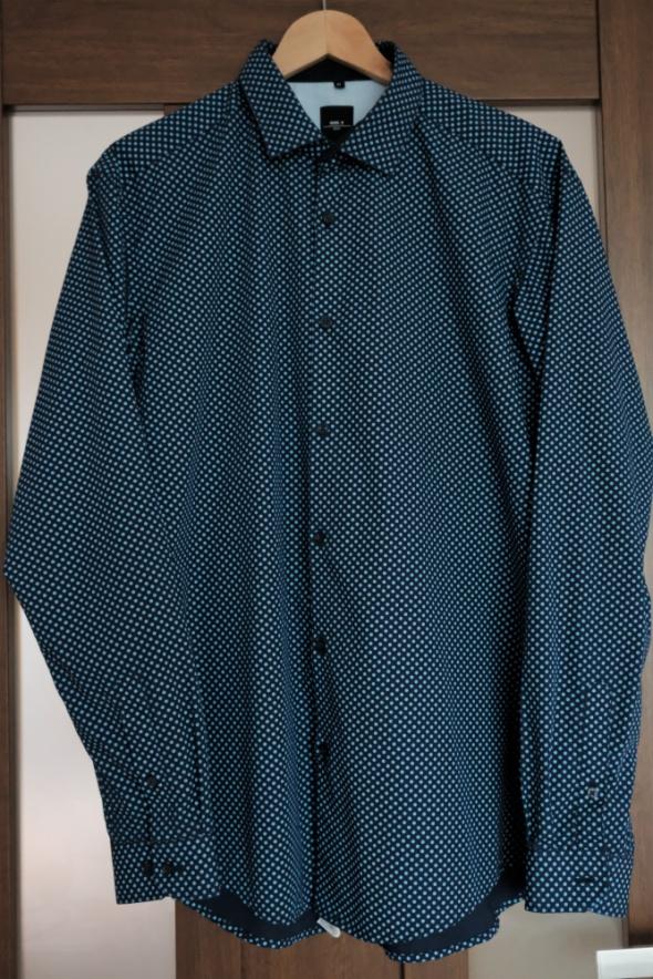 granatowa koszula L