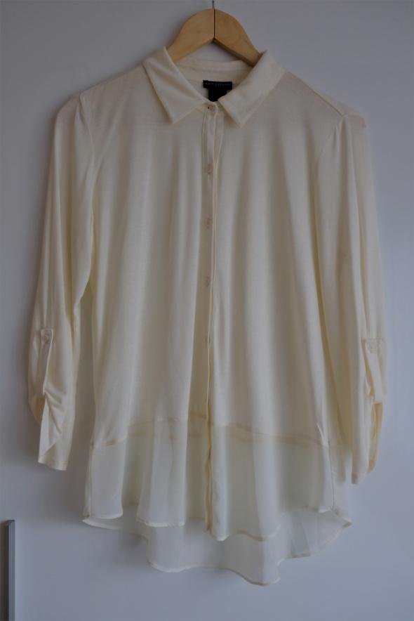 kremowa koszula Ann Taylor M