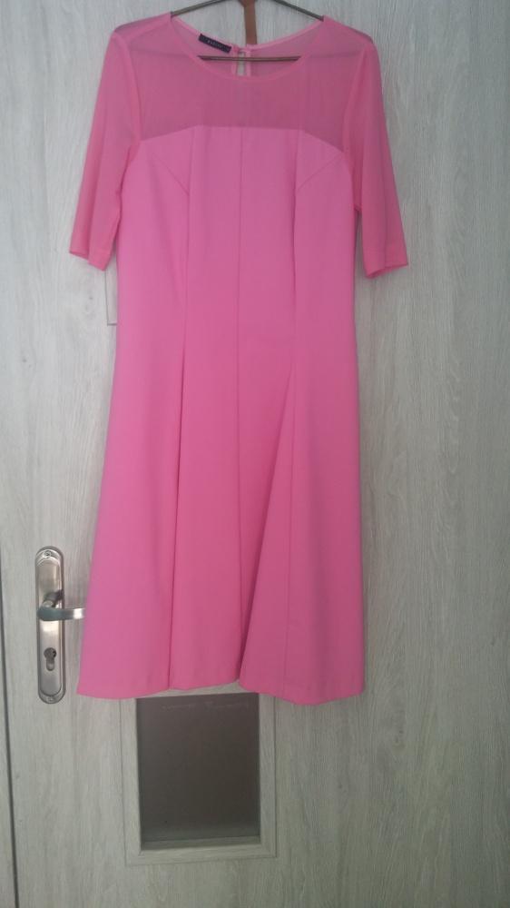 Różowa sukienka Mohito r 36...