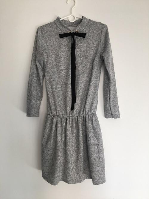 Nowa Sukienka Szara Uniwersalna