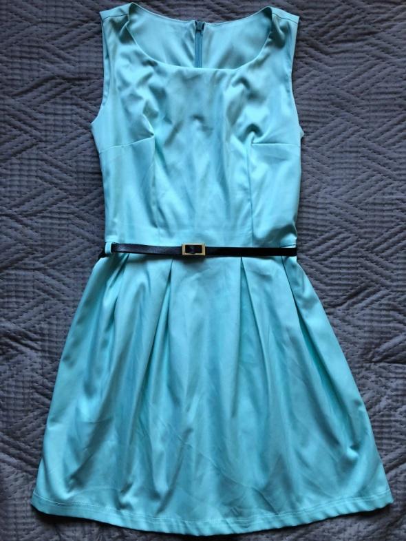 Sukienka niebieska wesele rozmiar S