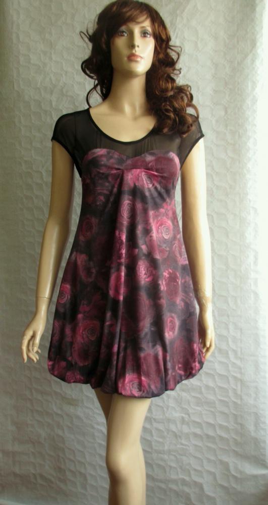 Miss Selfridge sukienka bombka w kwiaty śliczna 36...