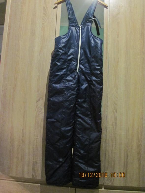 Spodnie ocieplane z Kurtka