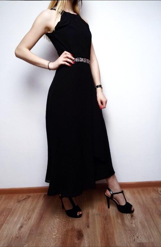 Sukienka Czarna koktajlowa Young Couture by Barbara Schwarzer...