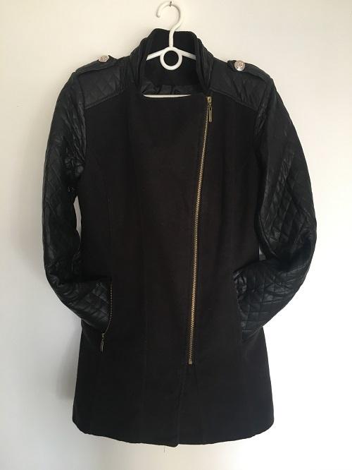 Płaszcz Czarny S 36
