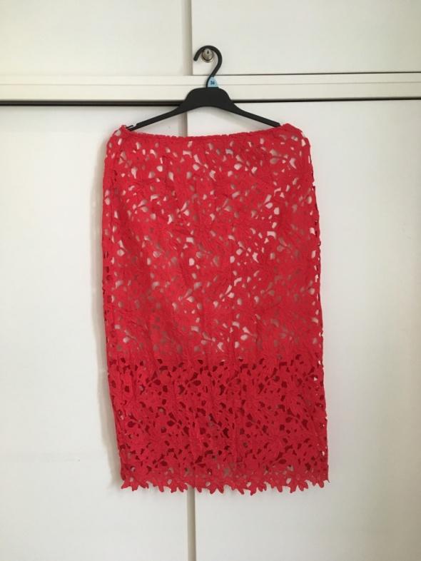 czerwona koronkowa spódnica Arrogant Cat 38 sexy