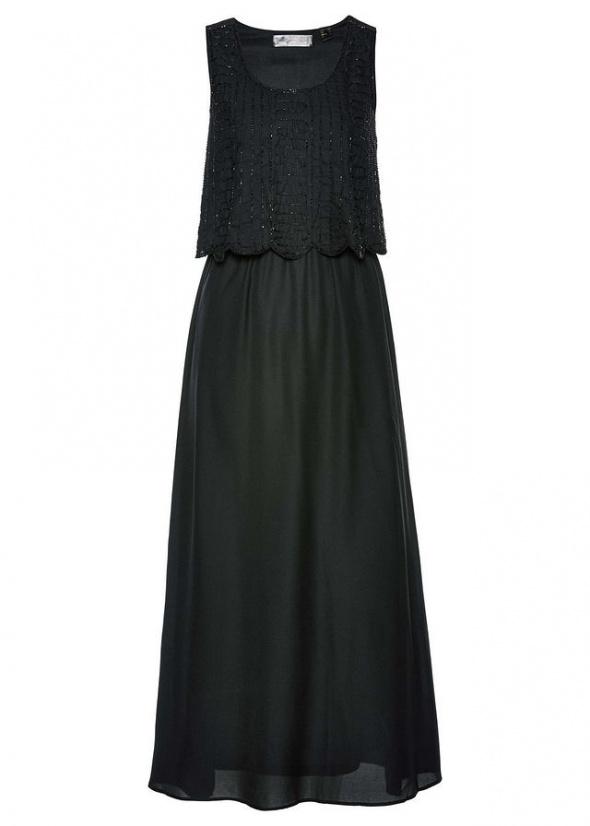 9c962062cd Suknie i sukienki Sukienka na każdą okazję zdobiona z przodu perełkami