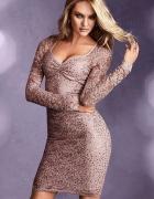 VICTORIA S SECRET Sukienka koronkowa z cekinami M...