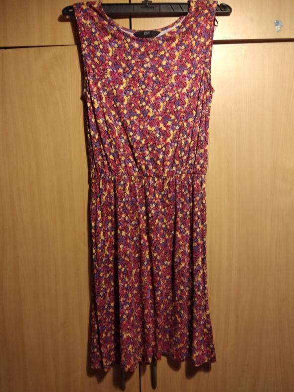 sukienka w kwiaty f&f...
