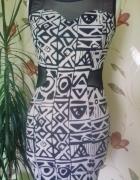 sukienka wzory new yorker...