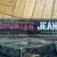 Spodnie jeans denim przecierane REPORTER 38 40