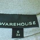 Sukienka tunika złota ołówkowa Warehouse 34 36 38