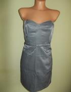 Sukienka ołówkowa srebrna Miss Selfridge 42...