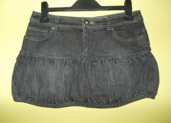 Spódnica mini jeansowa czarna Miss Selfridge 38...