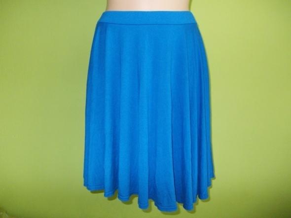 Spódnice Spódnica rozkloszowana niebieska Republic 38 40