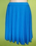 Spódnica rozkloszowana niebieska Republic 38 40