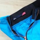 Niebieska spódnica midi