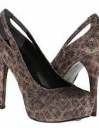 GUESS heels szpilki rozm 36 kryształy tanio z USA NOWE