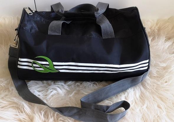 Torba sportowa podróżna kabinowa czarna