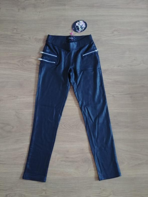 Spodnie legginsy eko skóra rozmiar M...