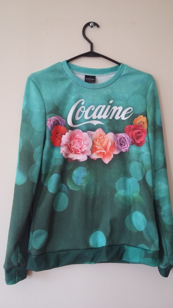 Bluza Cocaine marki Mr Gugu I Miss Go...