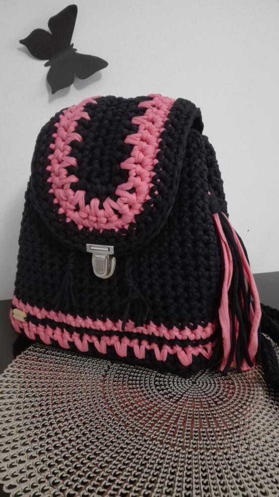 Plecak ręcznie robiony