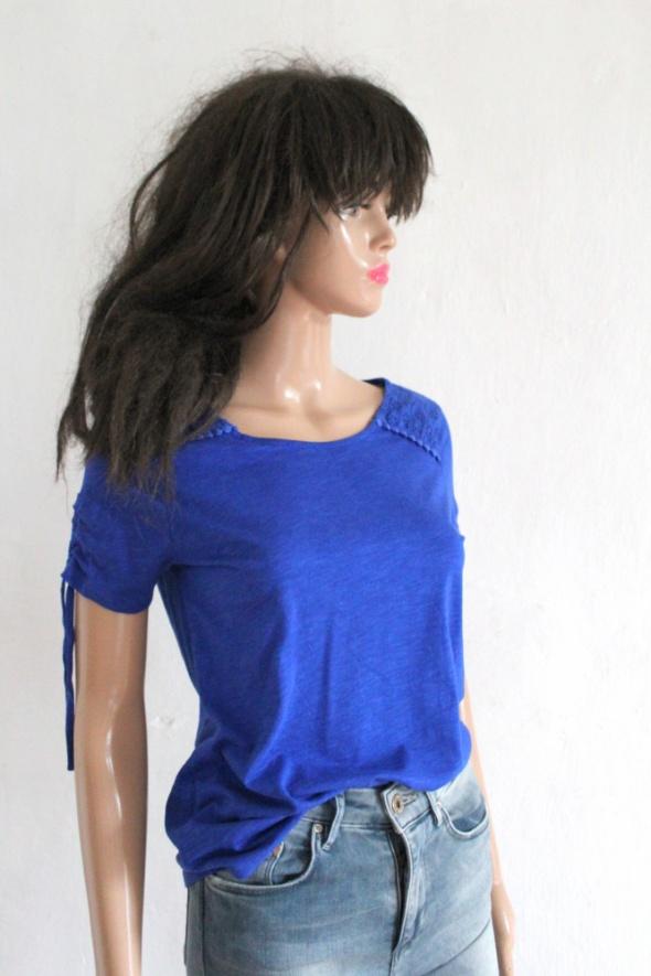 Kobaltowa bluzka r S...